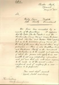 KCC Letter 1